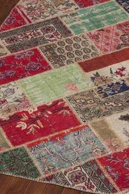 Apex Patchwork Cross Multi Naturel